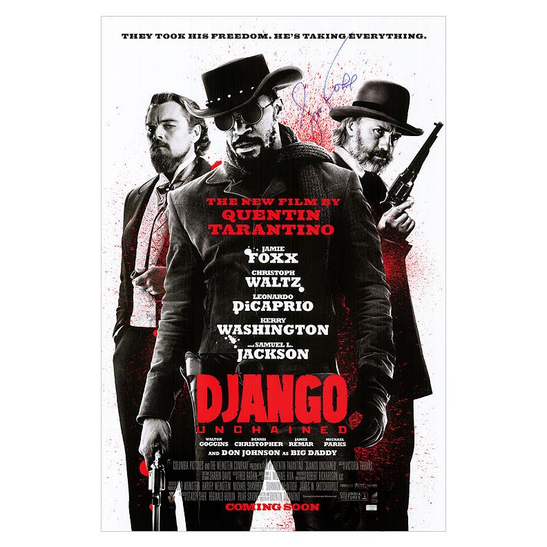 Jamie Foxx Autographed 27?40 Django Unchained International Poster