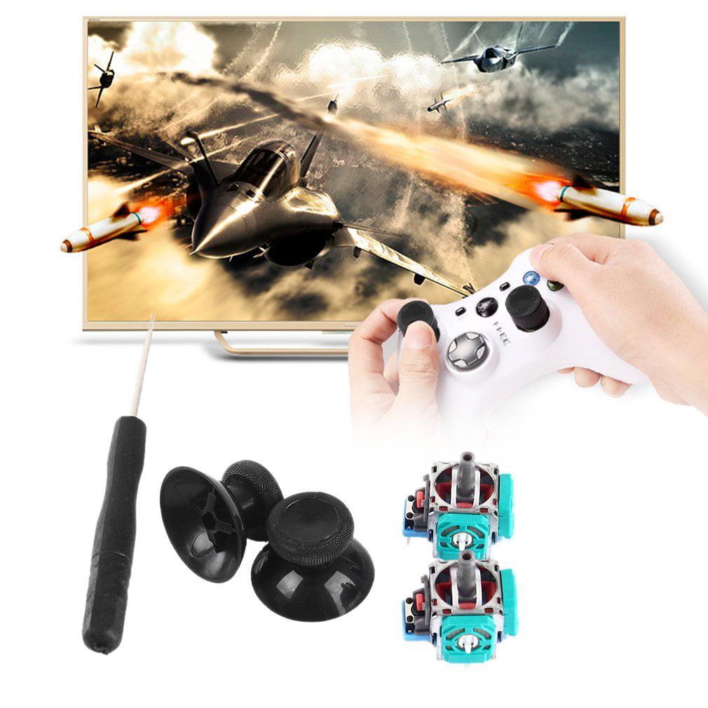 Pre-Black Friday 2 Set 3D Analog Joystick 3 Pin Sensor Module Potentiometer  with Thumb Sticks for Playstation 4 PS4 Controller Repair Wholesale