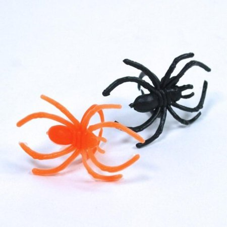 Creepy Halloween Spider Ring Party Favour, Plastic, 1