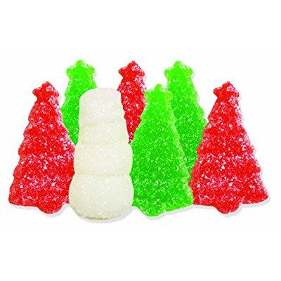 Albanese Candy, Christmas Gummi Snowmen &Amp; Trees With Snow, 4.5-Pound