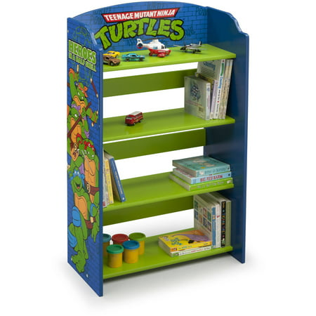 Teenage Mutant Ninja Turtles Wood Bookshelf by Delta Children