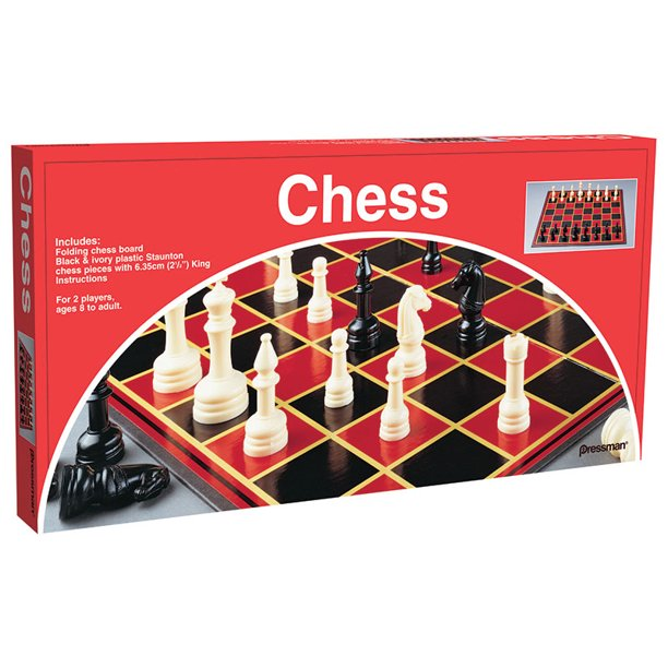 Department-store chess set