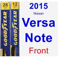2015 Nissan Versa Note Wiper Blade Set/Kit (Front) (2 Blades) - Premium