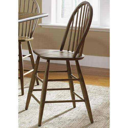 Liberty Furniture Industries Liberty Weathered Oak Windsor Barstool