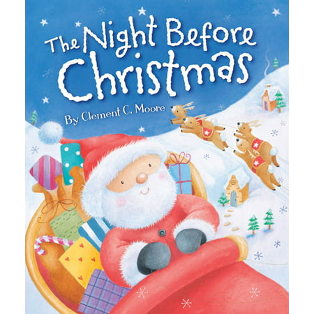 Night Before Christmas (Board Book) - Halloween Falls On The Night Before