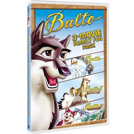 Balto 3-Movie Adventure Pack: Balto / Balto II: Wolf Quest / Balto III: Wings Of Change (Full Frame)