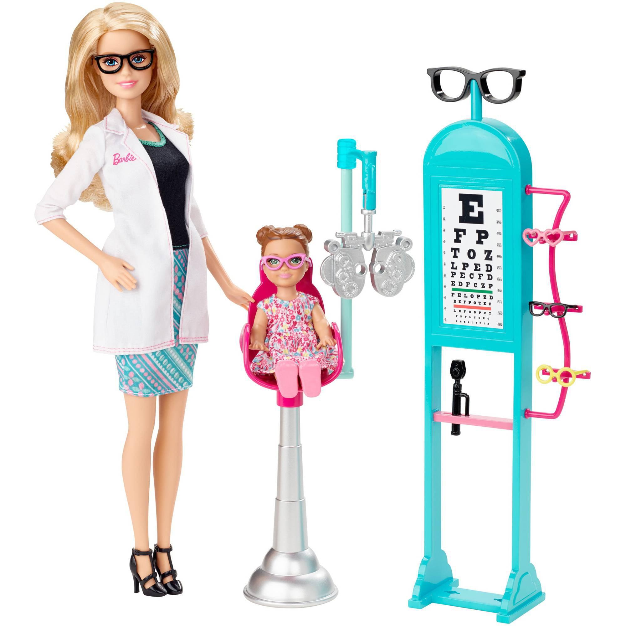 Barbie Careers Eye Doctor Walmart Com
