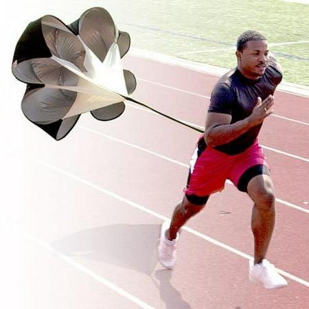StillCool Running Speed Training, 56 inch Speed Drills Resistance Parachute Running Sprint Chute Soccer Football Sport Speed Training