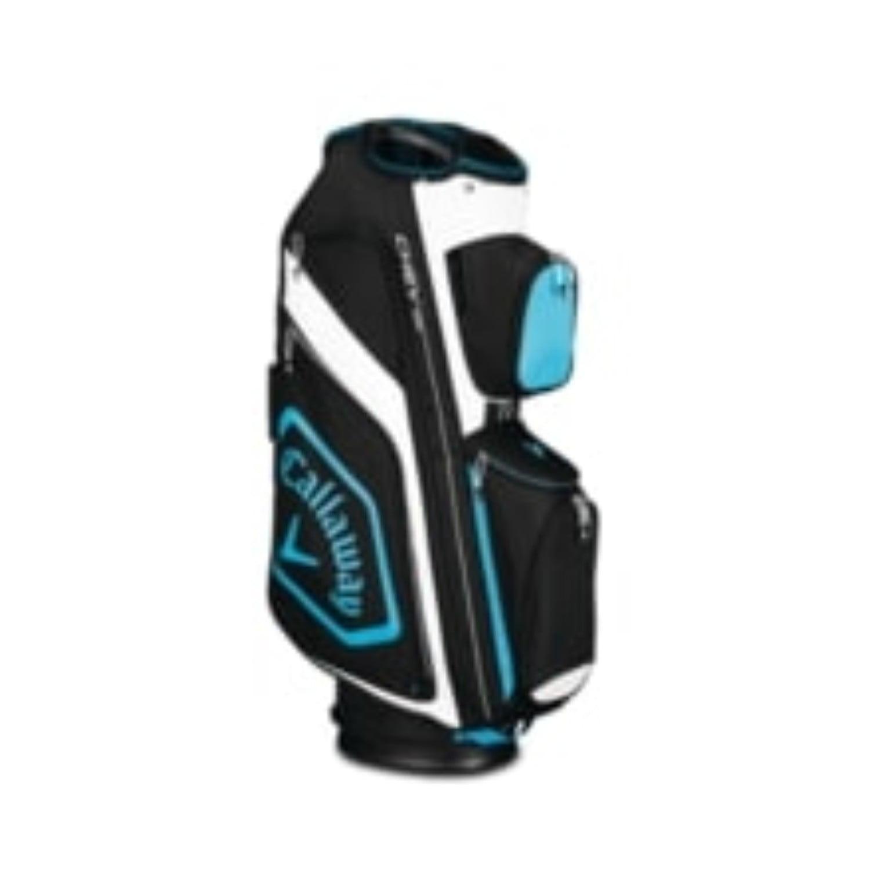 Callaway CHEV ORG Cart Golf Bag Black/Blue/White