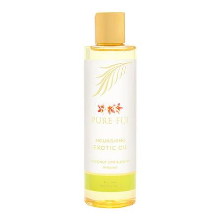 Pure Fiji Nourishing Exotic Oil, Coconut Lime Blossom, 8 (Pure Fiji Room)