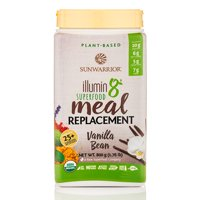 Sunwarrior Illumin8 Organic Superfood Meal Replacement, Vanilla, 1.8 Lb