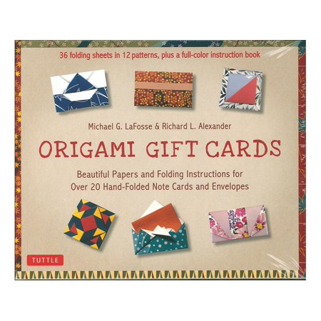 Origami Gift Cards Kit Beautiful Papers And Folding Instructions