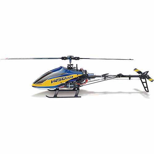 Walkera V450D03 6CH 450 RC FBL Helicopter w/ DEVO 7 Trans...