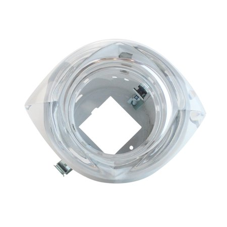 Leucos Recessed Low Voltage Light Devon Trim with Housing Clear Glass MR16 Crystal (Mr16 Trim)
