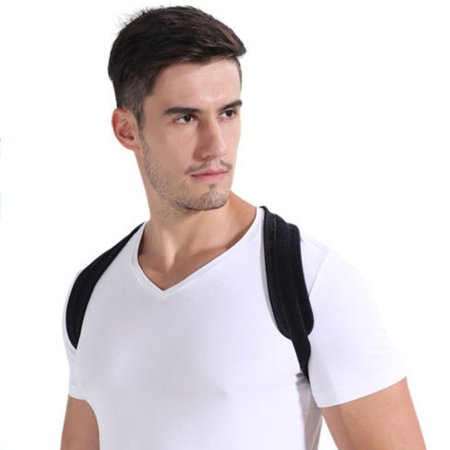 Upper Back Posture Corrector Clavicle Support Belt Back Slouching Corrective Posture Correction Spine Braces Supports Health Care - image 7 of 7
