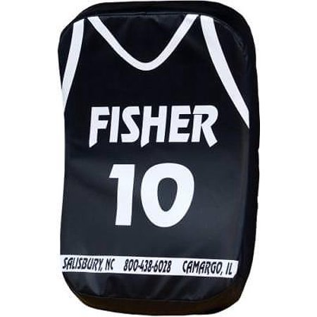 Fisher BB100 Curved Basketball Body Shield, Black