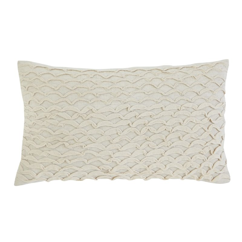 Ashley Stitched Throw Pillow in Beige (Set of 4) by Ashley Furniture