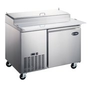 Heavy Duty Commercial Door Pizza Prep Table Refrigerator - Commercial prep table refrigerator