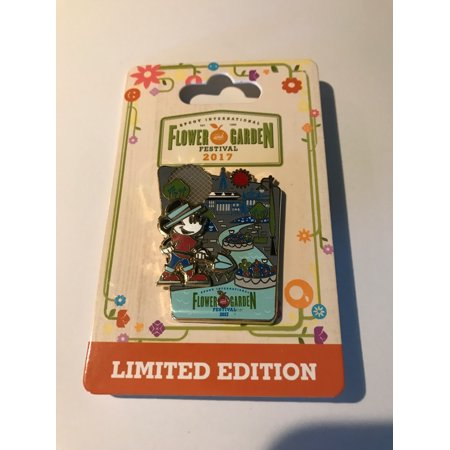 Disney Parks Epcot Flower & Garden 2017 Mickey Limited Pin New with Card](Disney Mickey Halloween 2017)