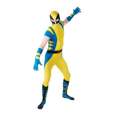 Mens Wolverine Second Skin Halloween - Days Of Future Past Wolverine Costume