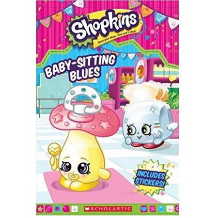 Baby-Sitting Blues (Shopkins: Reader with