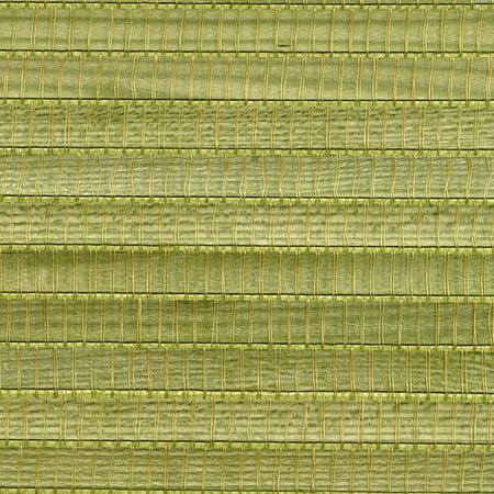 Kenneth James Gisei Green Grasscloth Wallpaper