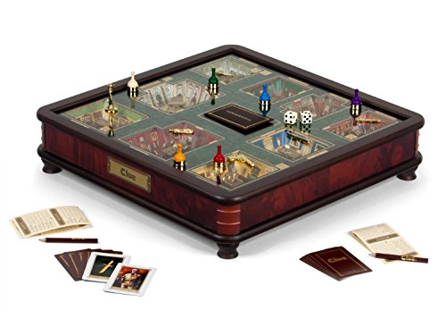 Clue Luxury Edition Board Game by Winning Solutions
