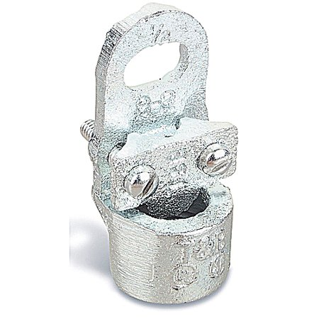 T   B 3940 Conduit Hub Ground Clamp For Wire Range 8   2  Conduit Size 3 4