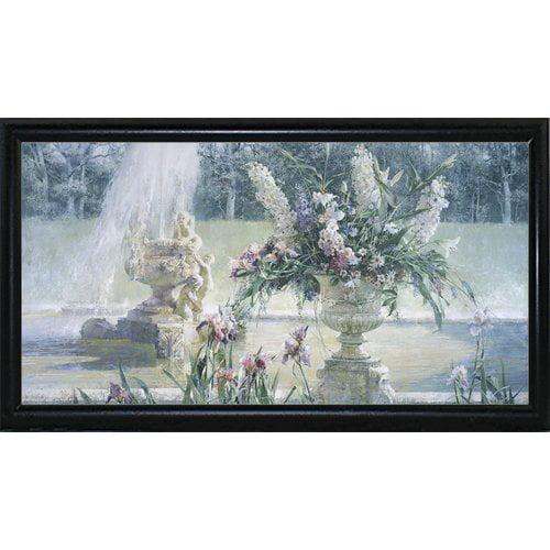 Astoria Grand 'Fountain in the Country Estate' Print