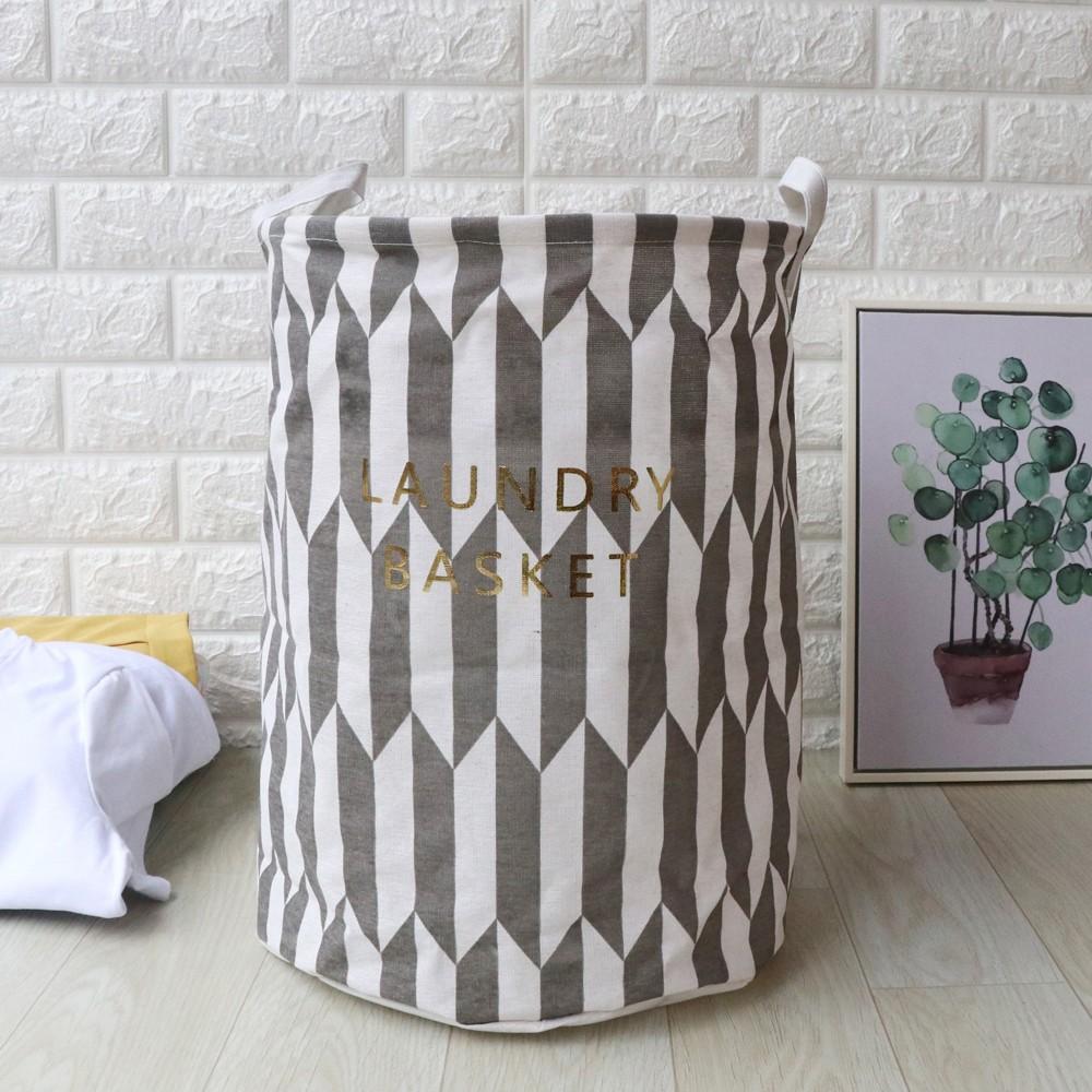 Mosunx Waterproof Sheets Laundry Clothes Laundry Basket Storage Basket Folding Storage