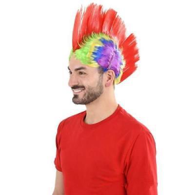 Mohawk Wigs For Kids (RAINBOW MOHAWK WIG)