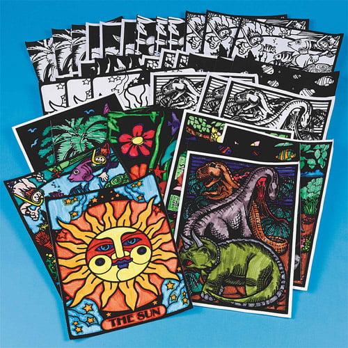 Velvet Art Posters, Pack of 30