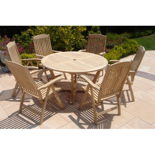 Royal Teak by Lanza Products 7 Piece Dining Set