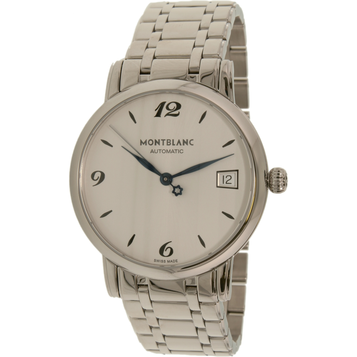 Montblanc Women's Star Classique 111591 Silver Stainless-Steel Swiss Automatic Fashion Watch
