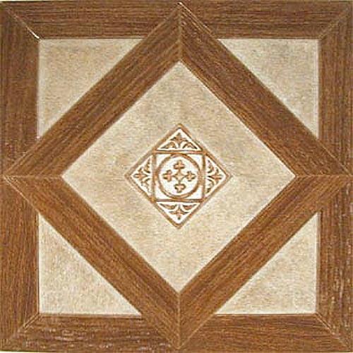 Home Dynamix Dynamix Vinyl Tile 12'' x 12'' Luxury Vinyl Tiles in Madison Woodtone/Stone