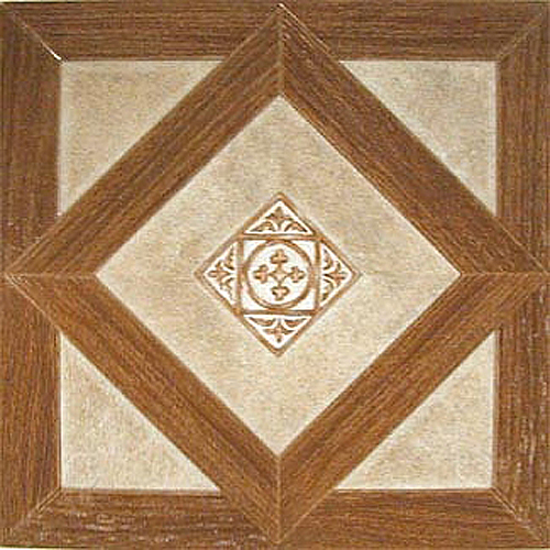 Home Dynamix Dynamix Vinyl Tile 12'' x 12'' Luxury Vinyl Tiles in Madison Woodtone/Stone