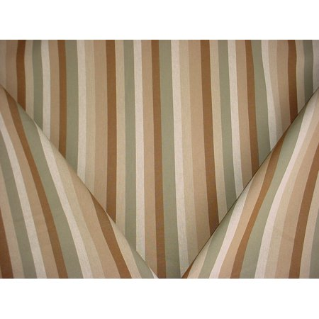 Swavelle Mill Creek / TFA Watson in Garden - Heavy Cotton Stripe Designer Upholstery Drapery Fabric - By the Yard ()