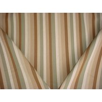 Swavelle Mill Creek / TFA Watson in Garden - Heavy Cotton Stripe Designer Upholstery Drapery Fabric - By the Yard