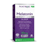 Natrol Advanced Sleep Melatonin Time Released Tablets, 10 Mg, 60 Ct