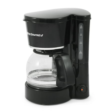 Elite Cuisine EHC-5055 5-Cup Coffeemaker with Pause & Serve