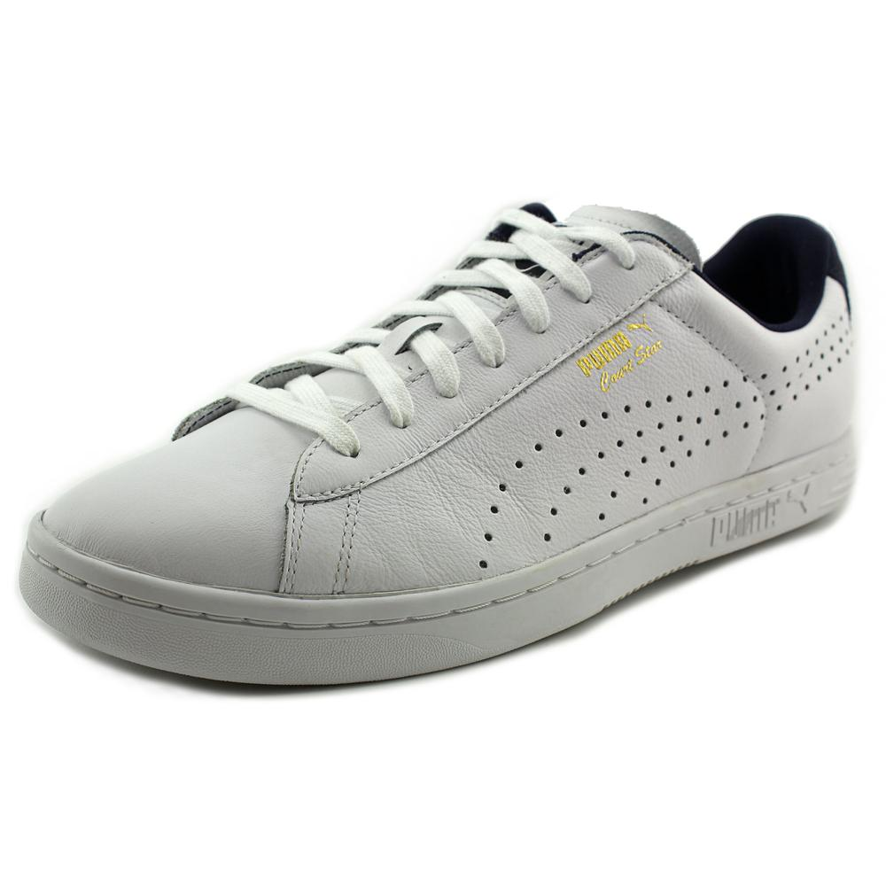 Puma Court Star CRFTD Men  Round Toe Leather  Sneakers