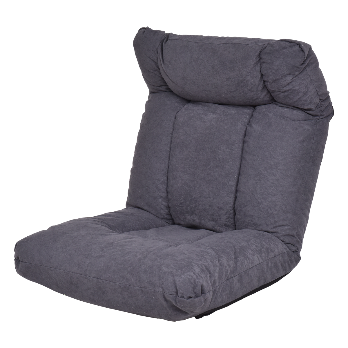"GHP 20""x24""x32"" Sponge Cloth & Metal Frame Head Cushion Adjustable Backrest Floor Chair"