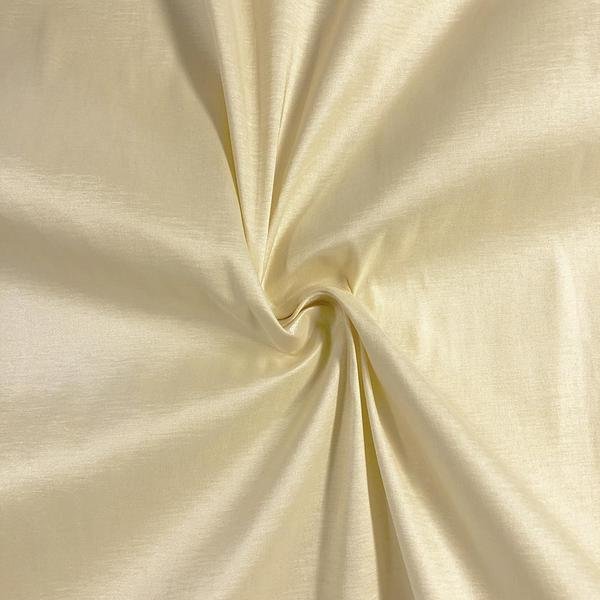 "Taffeta Stretch Fabric 2-Way Stretch 58"" Wide By The Yard (White)"
