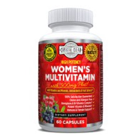 Ultra Multivitamin for Women, Best for Vitamins in Supplements for Women Over 50 Plus, 60 Capsules, 1 Month (Best Rated Multivitamin 2019)