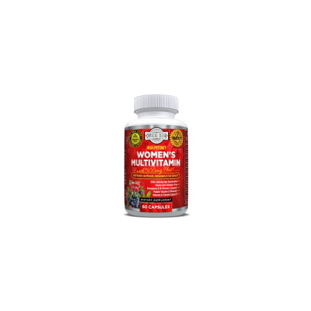 Ultra Multivitamin for Women, Best for Vitamins in Supplements for Women Over 50 Plus, 60 Capsules, 1 Month