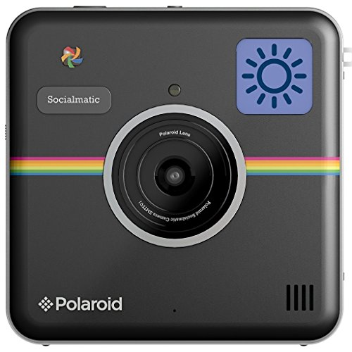 Polaroid Socialmatic Instant Digital Camera (Black) by Polaroid