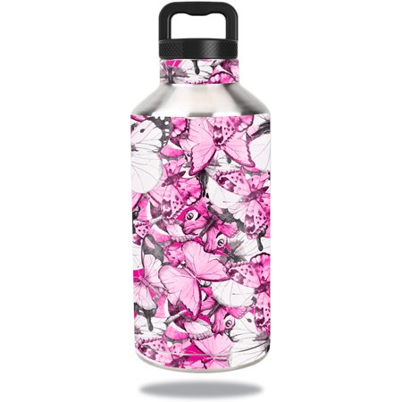 Water Bottle Wrappers (Skin For Ozark Trail Water Bottle 64 oz – Butterflies | MightySkins Protective, Durable, and Unique Vinyl Decal wrap cover | Easy To Apply, Remove, and Change Styles | Made)
