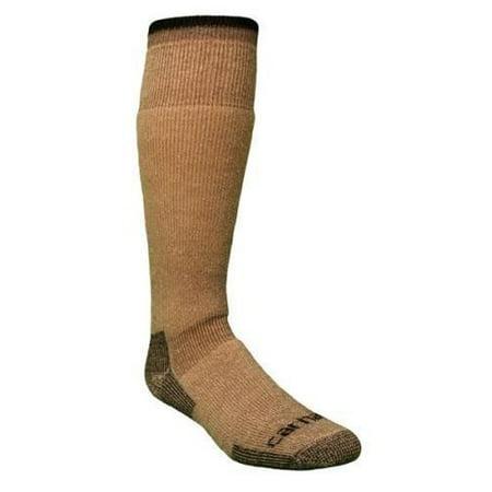 Carhartt - Carhartt Men s Brown Heavyweight Boot Socks Size Large ... 709b103f69e