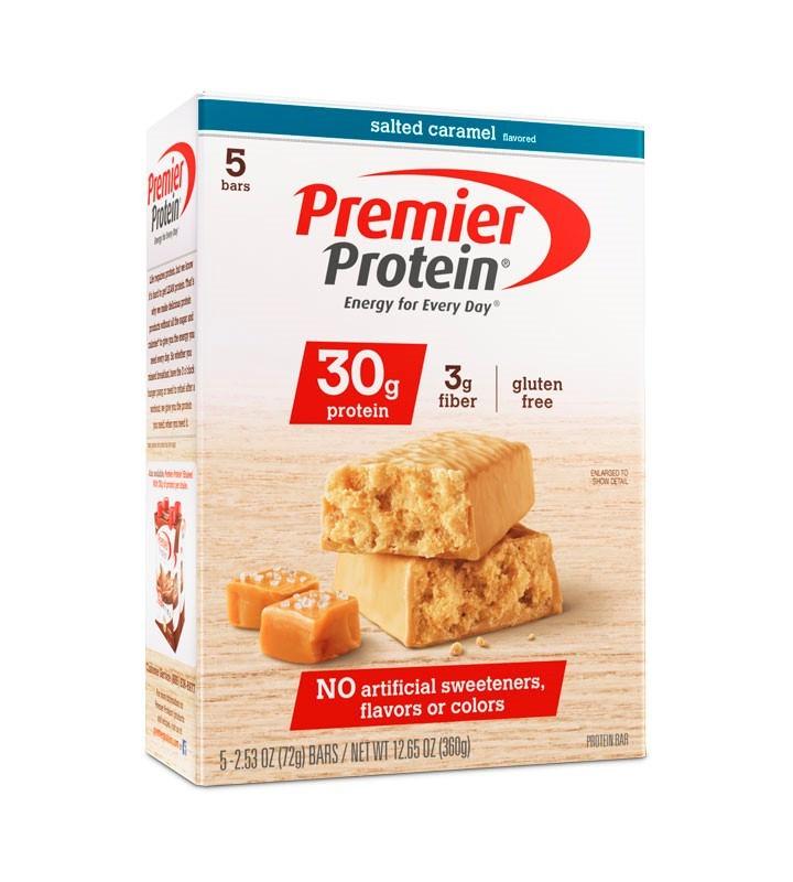 Premier Protein Bar, Salted Caramel, 30g Protein, 5 Ct