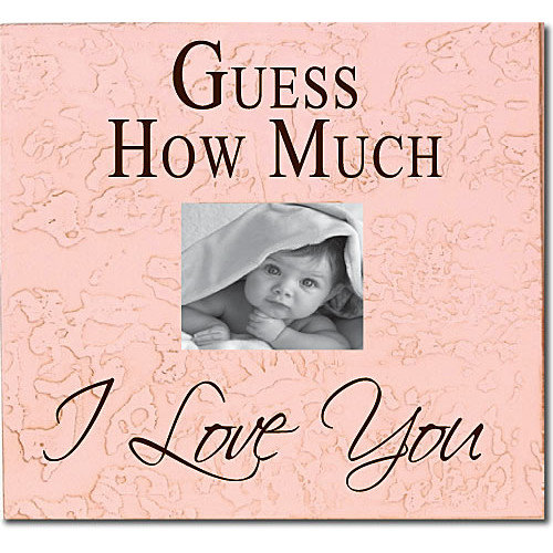 Forest Creations Guess How Much I Love You Child Frame